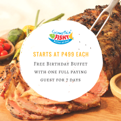 Birthday Buffet Promo Manila 2017