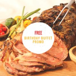 Birthday Buffet Promos in Manila