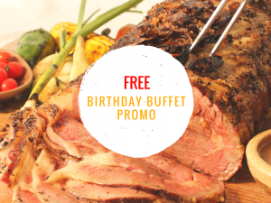 Birthday Buffet Promos in Manila