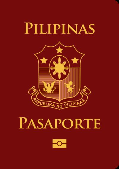 Brown Philippine Passport