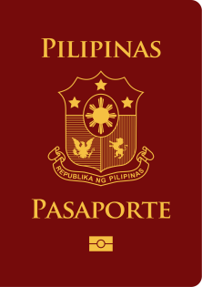 Brown Philippine Passport