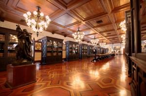 A library inside Malacanang Palace