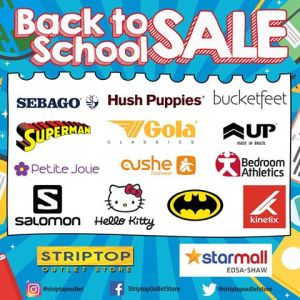 StarMall Edsa-Shaw Back to School Sale