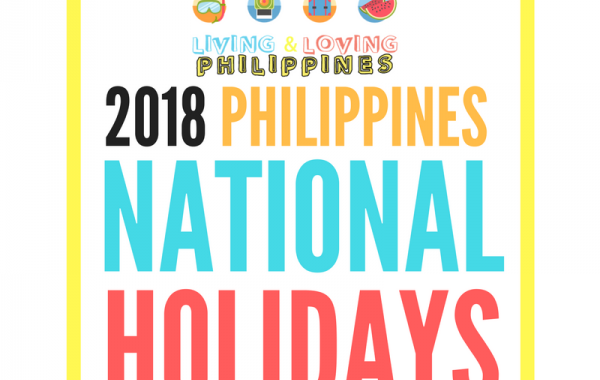 2018 Philippines National Holidays