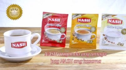 NASH Coffee Made in the Philippines