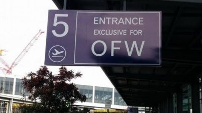 NAIA terminal 3 exclusive lane for OFW (Overseas Filipino Worker)