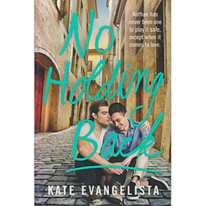No Holding Back by Kate Evangelista book cover.