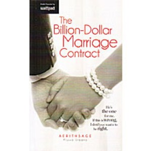 Billion Dollar Marriage by Alyssa Urbano book cover.