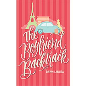 The Boyfriend Backtrack by Dawn Lanuza book cover.