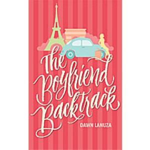 The Boyfriend Backtrack by Dawn Lanuza book cover.