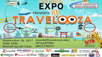 Asia Digital Marketing Expo Travelooza ad banner.