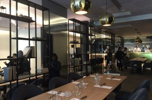 FOO'D by Chef Davide Oldani dining area.