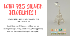 Living and Loving Philippines Giveaway