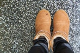 Brown Winter Boots for Womens