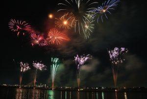 fireworks display in Manila