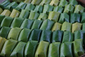 Suman or sticky rice