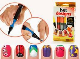 Hot Designs Nail Art Pens as seen on tv
