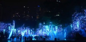 Festival of Lights in Ayala Triangle Gardens