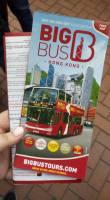 Big Bus Tours Hong Kong Brochure