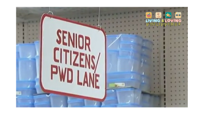 Senior Citizen / PWD Lane