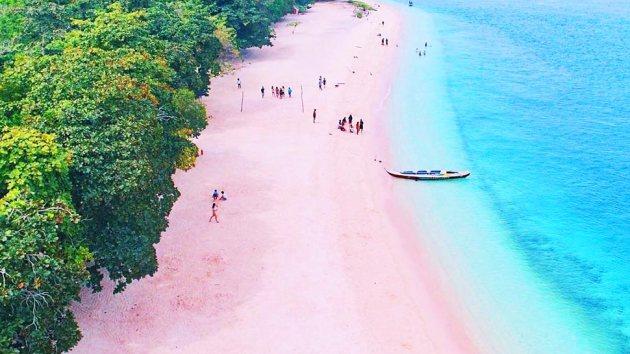 Pink Sand Beach Philippines