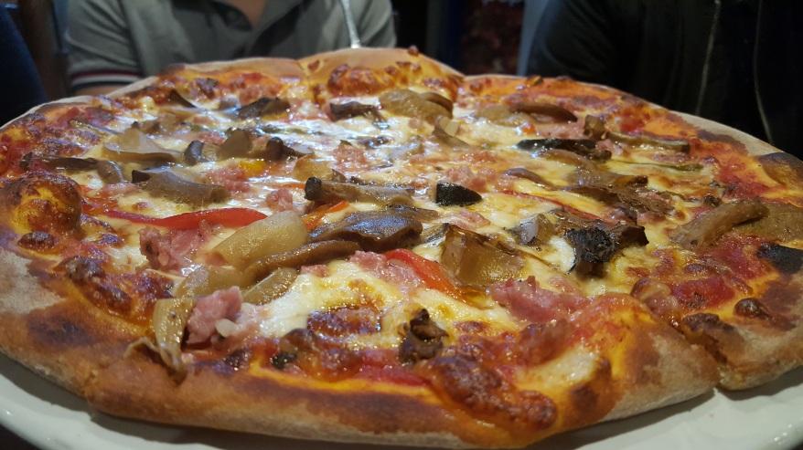 Pizza in Francesco's Kitchen