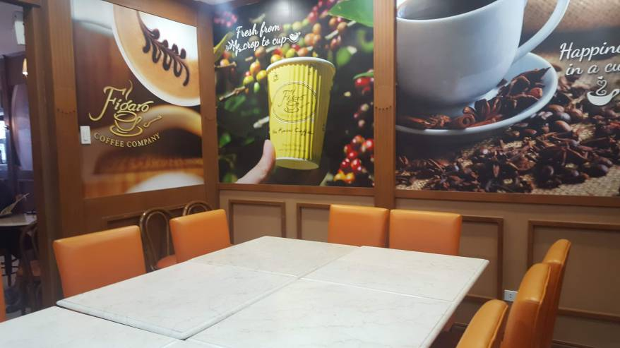 Figaro Coffee Meeting ROom