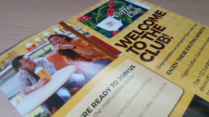 Figaro Coffee Club Membership
