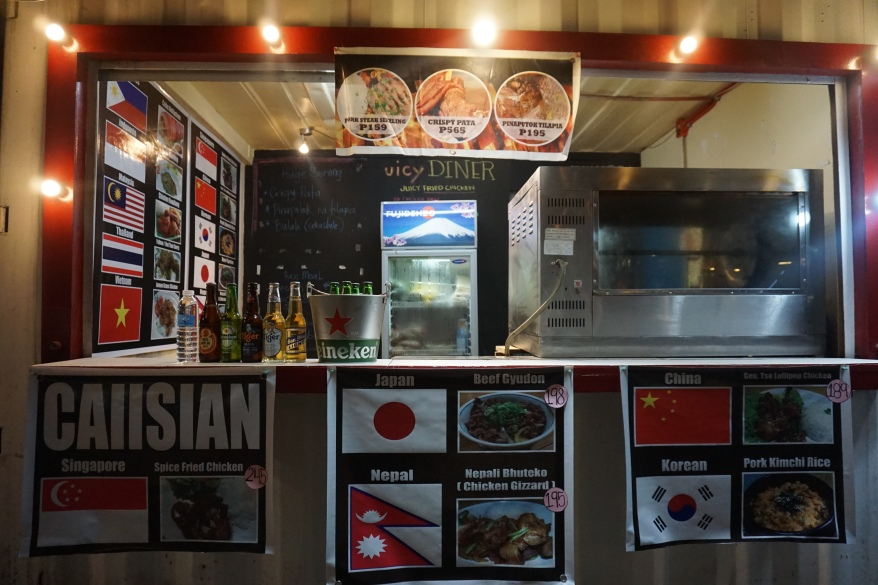 Caiisian Food Stall at R20 Food Hub