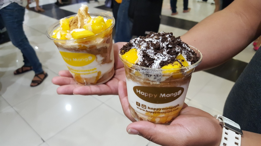 Happy Mango dessert cups
