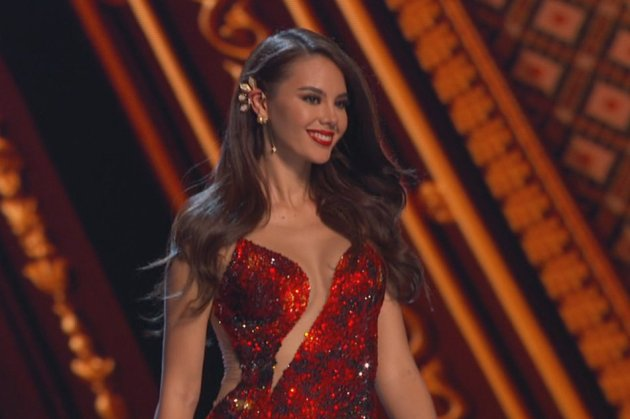 Catriona Gray as Miss Universe 2018