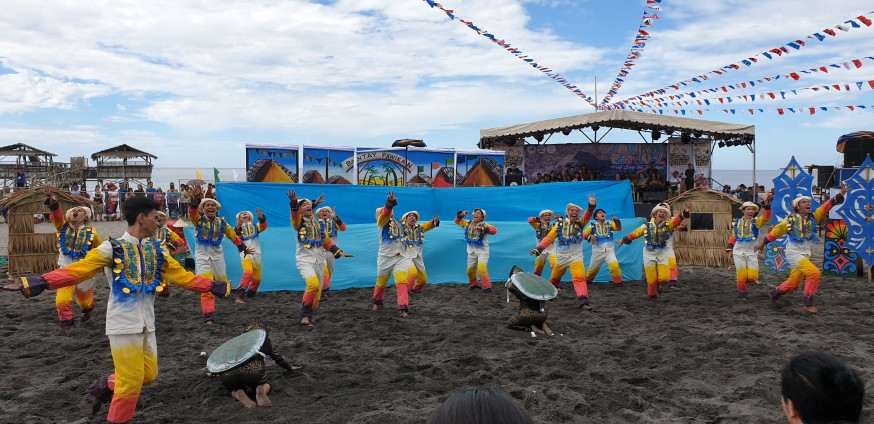 Pawikan Festival in Morong Bataan 2018 dance competition 4