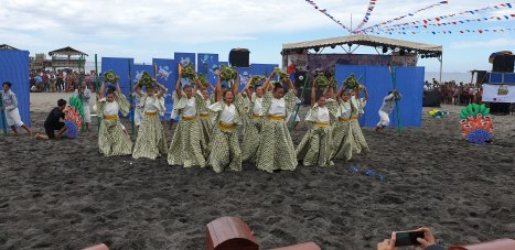 Pawikan Festival in Morong Bataan 2018 dance competition 5