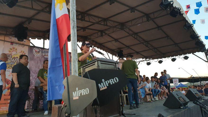 Sara Duterte Speech Pawikan Festival 2018