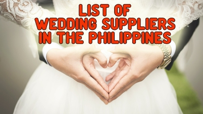 Wedding Suppliers Manila