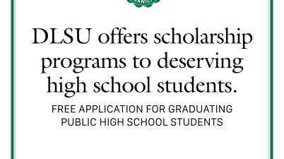 DLSU scholarship programs