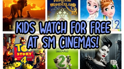 Kids watch for free at SM Cinemas