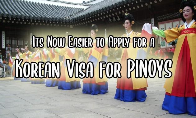 Filipinos applying for South Korea visa