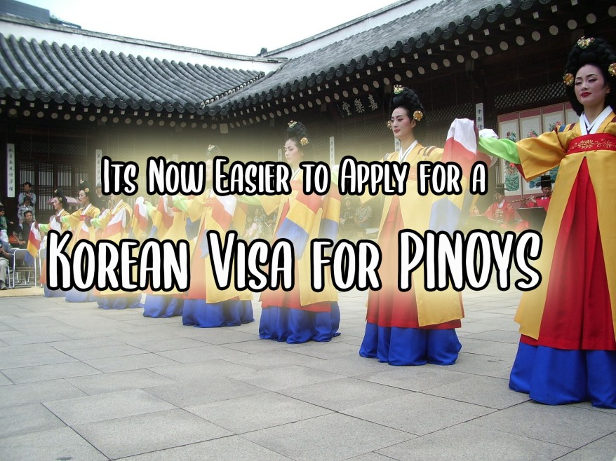 Filipinos applying for South Korea visa