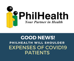Philhealth benefit for COVID19 patient.