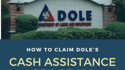 DOLE cash assistance program for COVID 19 outbreak
